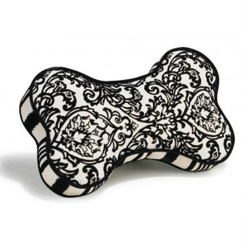 Bone Shaped Throw Pillow - Ritz