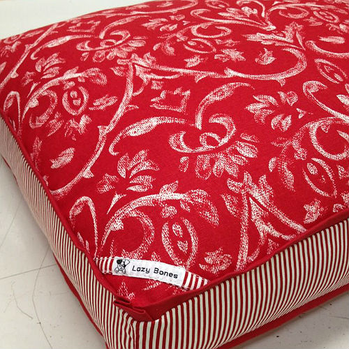 "Fabric ""Tuscany"" Dog Bed"