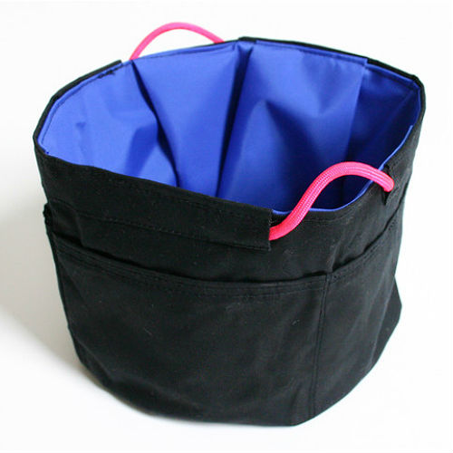 Stow Away Travel Pet Bowl - Black