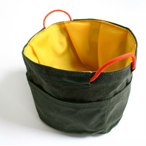 Stow Away Travel Pet Bowl - Olive