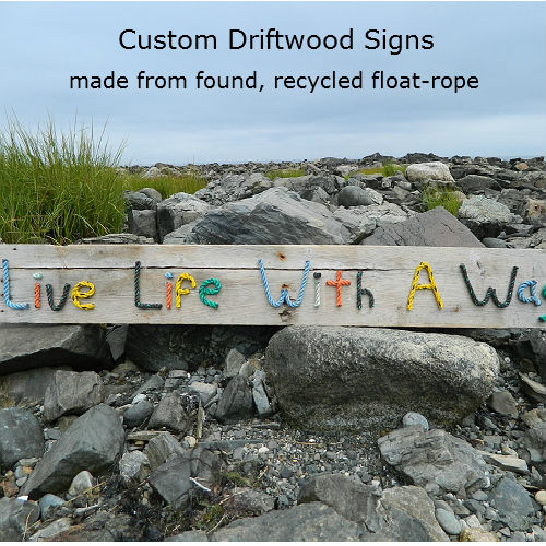 Create-Your-Own Custom Driftwood Sign
