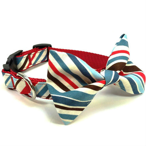 Bow Tie Dog Collar & Leash Ivy League