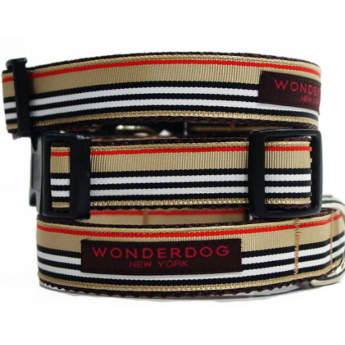 Preppy Madison Collar & Leash