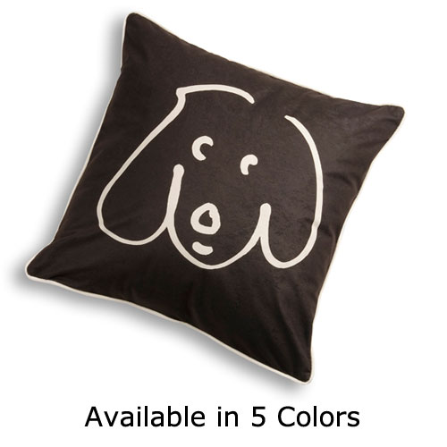 Doodle 2 Pillow in 5 Colors