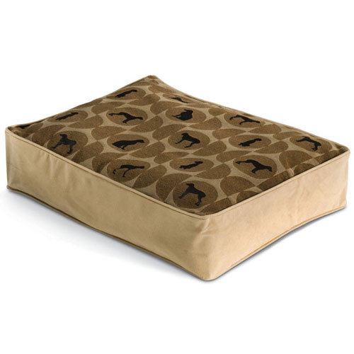 Crypton Polka Dog Bed