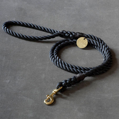 Rope Leash - Black