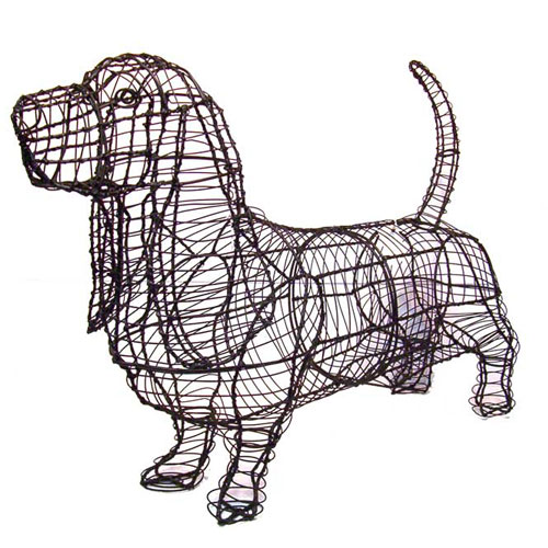 Dog Topiary - Basset Hound