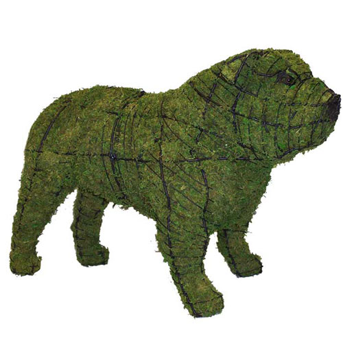Dog Topiary - Bulldog