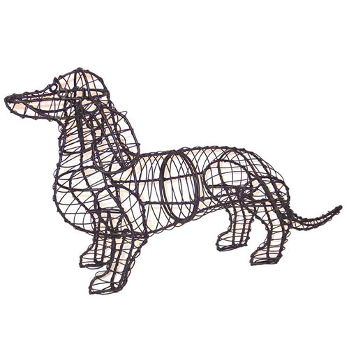 Dog Topiary - Dachshund