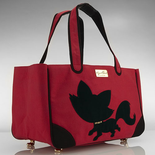Foxy Feline Tote in 3 Colors