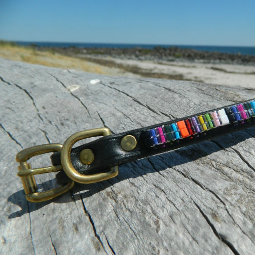 Beaded Candy Shop Collar & Leash