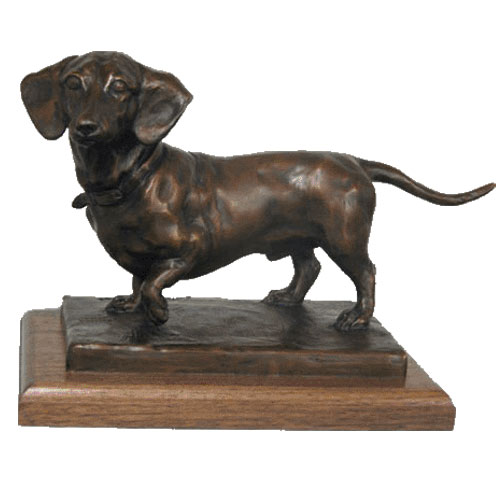 Life Size Pure Bronze Custom Dog Statue