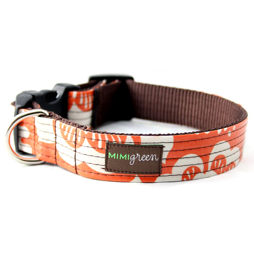 Laminated Dog Collar & Leash Marigold