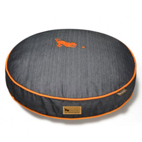 PLAY Urban Denim Round Pet Bed