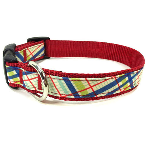 Preppy Plaid Collar & Leash