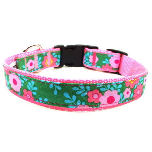 Flower Power Collar & Leash