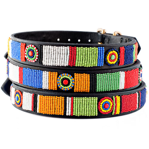 Beaded Dog Collar-Circle of Life