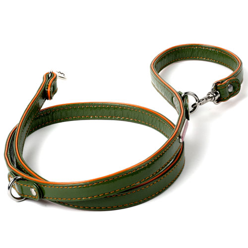 Patent Leather Leashes in 5 Great Colors