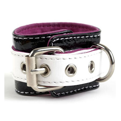 Patent Leather Wrist Cuff for Leash / In 5 Great Colors